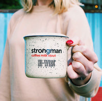 Ceramic Strongman Coffee Stout Camp Mug