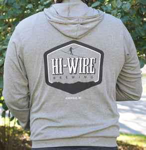 Heather Grey Lightweight Hoodie