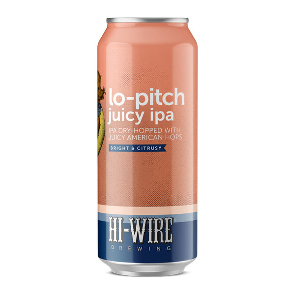 Lo-Pitch Juicy IPA - CASE of 24 16oz cans