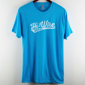Light Blue Baseball Logo T-Shirt