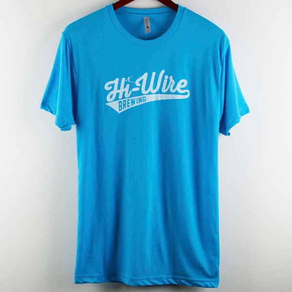 SALE!! Light Blue Baseball Logo T-Shirt