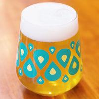 Stemless Teku Glass - Teardrop