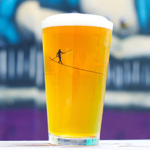 Dual Logo Pint Glass