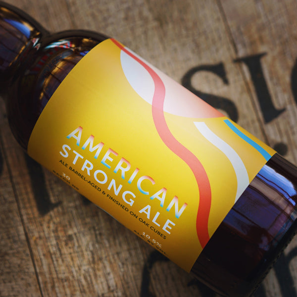 BA American Strong Ale finished on Oak Cubes (2020) - 375mL bottle