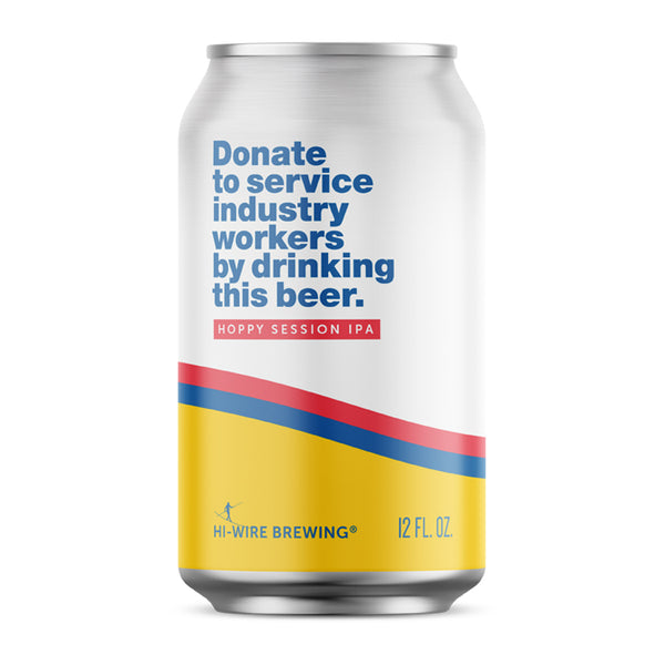 Donate To Service Industry Workers By Drinking This Beer. - 6-pack