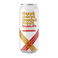 Hazy Juicy Hoppy Fresh DOUBLE IPA w/ Citra & Strata - 4 pack