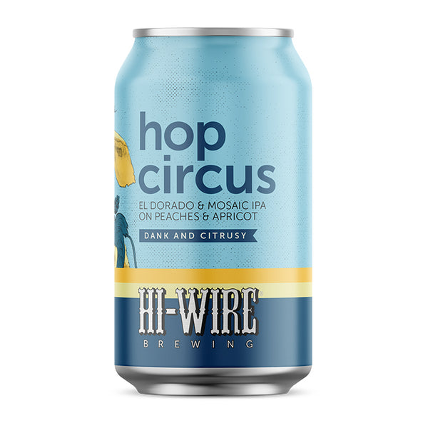 Hop Circus IPA on Peaches & Apricot - 6-pack