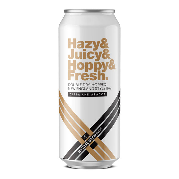 Hazy Juicy Hoppy Fresh IPA - 4 pack