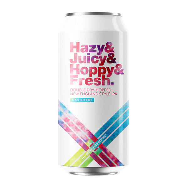 Hazy Juicy Hoppy Fresh IPA w/ Cashmere - 4 pack