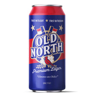 Old North Premium Lager - Case of 16oz cans
