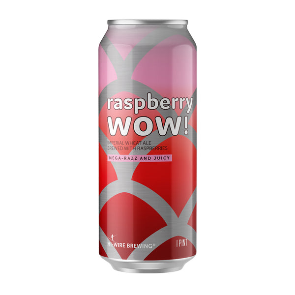 Raspberry WOW! Imperial Wheat Ale - 4 pack