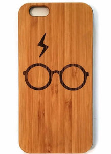 Harry Potter Scar bamboo wood iPhone case for iPhone 6, iPhone 6s, iPhone 6 plus, iPhone 7, iPhone 7 plus, iPhone 8, iPhone 8 plus, iPhone X, XS, XR, XS Max