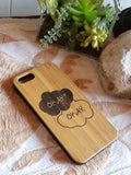 OKAY OKAY bamboo wood iPhone case for iPhone 6, iPhone 6s, iPhone 6 plus, iPhone 7, iPhone 7 plus, iPhone 8, iPhone 8 plus, iPhone X, XS, XR, XS Max