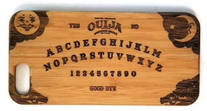 Ouija Board bamboo wood iPhone case for iPhone 6, iPhone 6s, iPhone 6 plus, iPhone 7, iPhone 7 plus, iPhone 8, iPhone 8 plus, iPhone X, XS, XR, XS Max