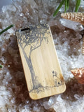 Dog & Cat bamboo wood case for iPhone 6, iPhone 6s, iPhone 6 plus, iPhone 7, iPhone 7 plus, iPhone 8, iPhone 8 plus, iPhone X, XS, XR, XS Max
