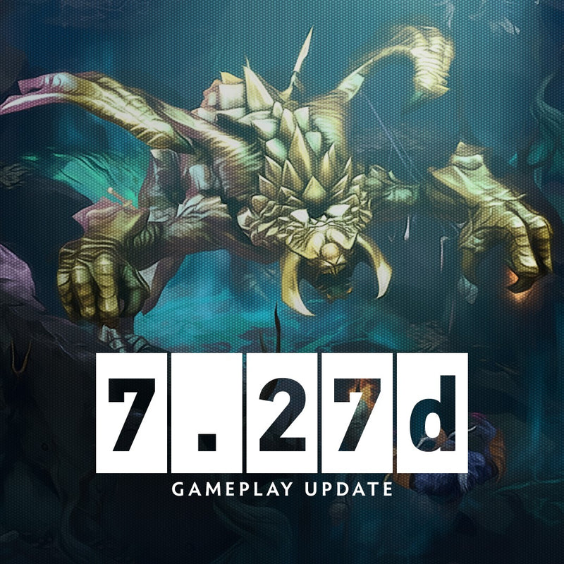 [DOTA 2] GAMEPLAY UPDATE  7.27d - AUGUST 27, 2020