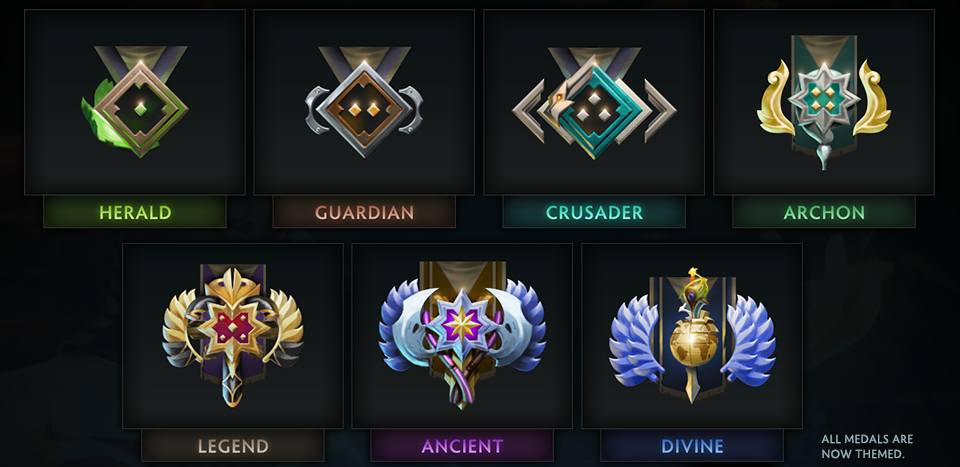 "Herald Dota 2 Badge: Tagged ""dota 2 Medal"""