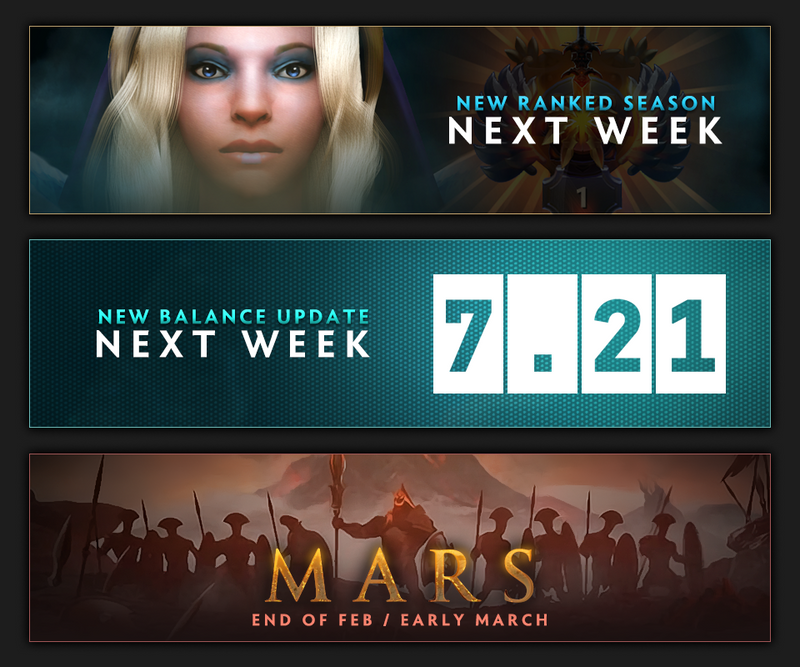 [OFFICIAL] Dota 2 Season III starts next week (Jan 28th - Feb 2nd)