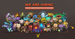 [Jobs] We are hiring - Dota 2 US Boosters