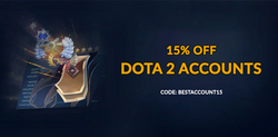[Dota 2] Deal of May: 15% off all MMR accounts
