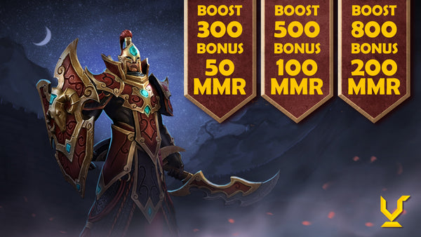 [Dota 2] Extra MMR for Boosting Service only this week