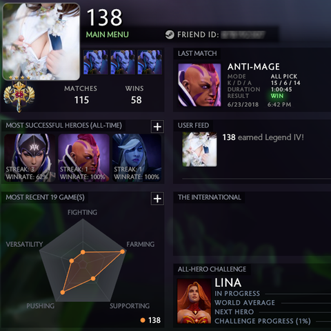Legend IV | MMR: 3449 / TBD