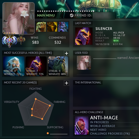 Ancient V | MMR: 4704 / TBD