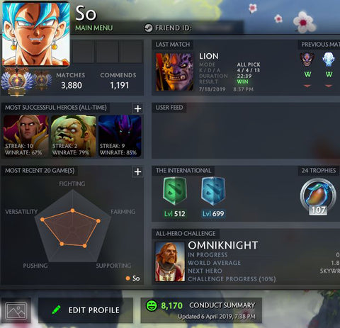 Selling Dota 2 MMR Accounts – VikingDOTA