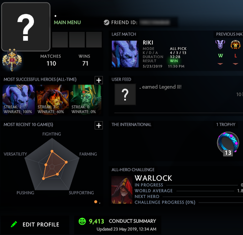 Legend II | MMR: 3219 / 10 TBD