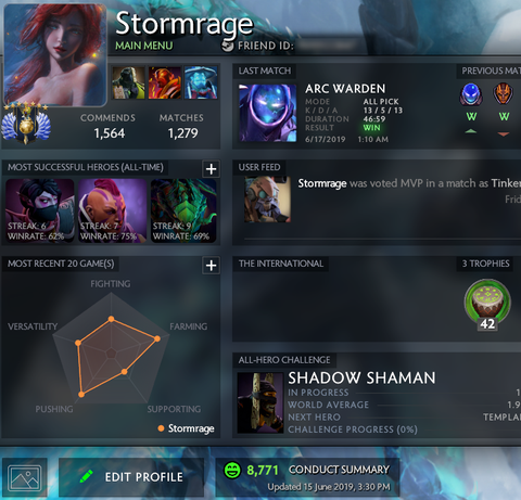 Available Dota 2 MMR Accounts – Tagged