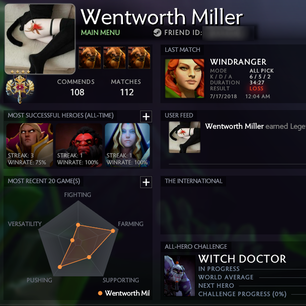 Legend IV | MMR: 3346 / TBD