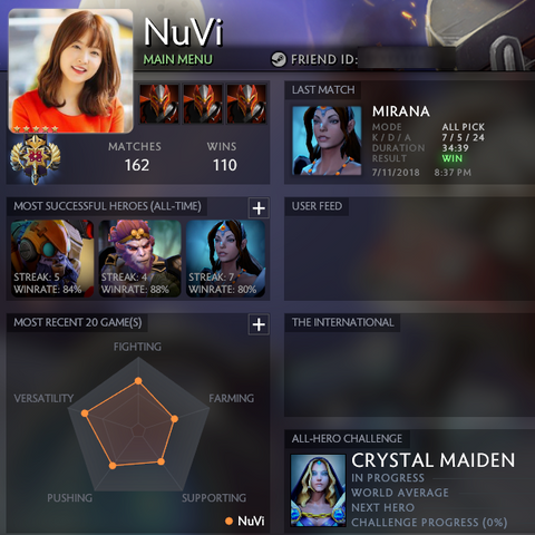 Legend V | MMR: 3600 / TBD