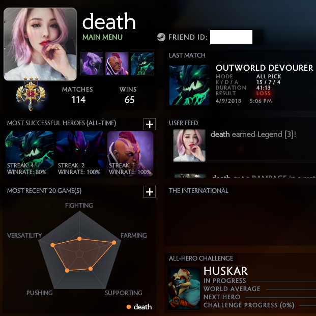 Legend [3] | MMR: 3500 / TBD