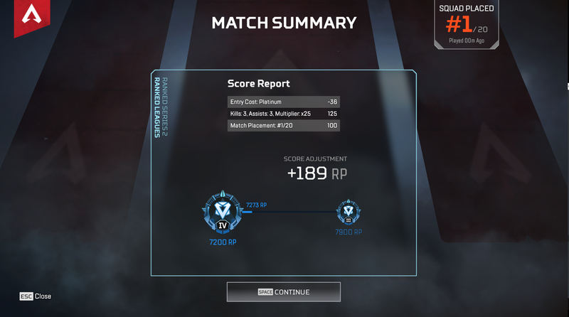 Apex Legends Rank Boosting