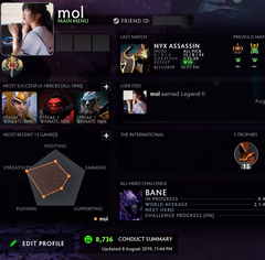 Legend I | MMR: 3017 / TBD