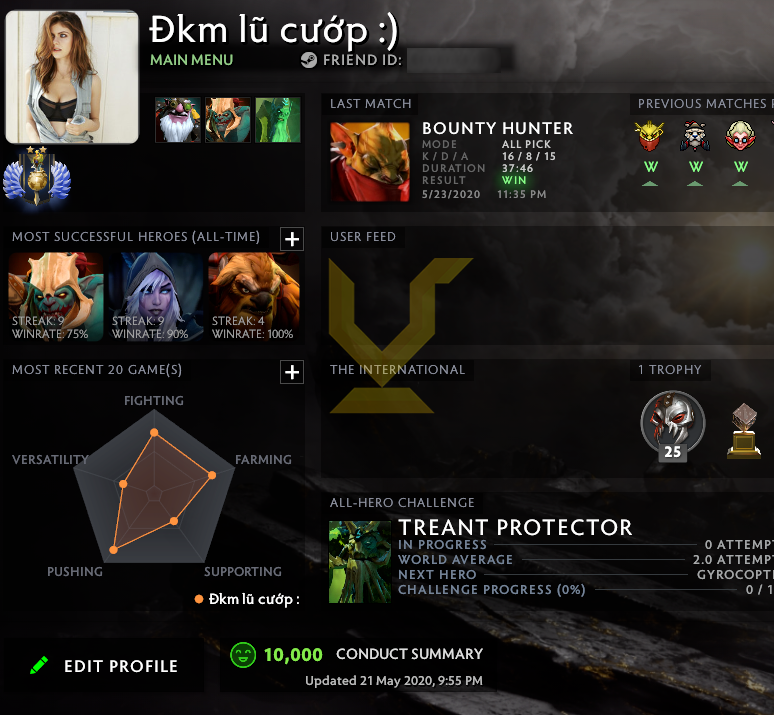 Divine II | MMR: 4900 - Behavior: 10000