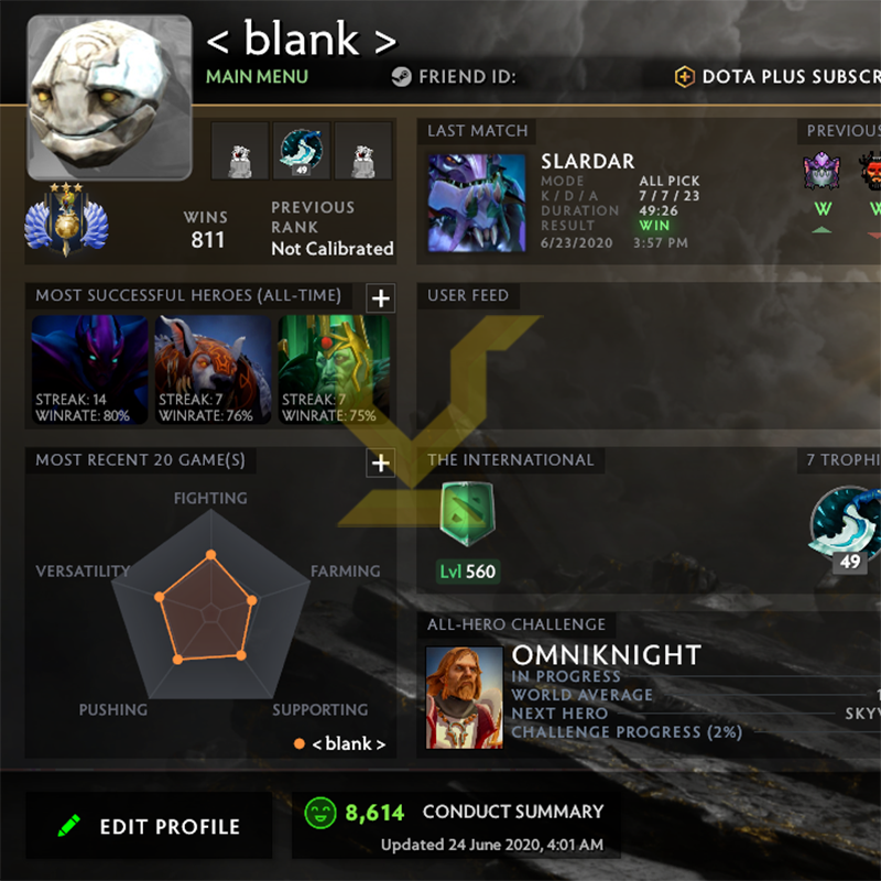 Divine III | MMR: 5100 - Behavior: 8614