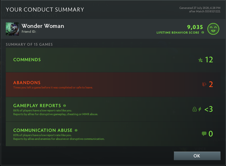 Crusader V | MMR: 2200 - Behavior: 9035