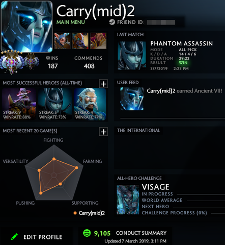 Ancient VII | MMR: 4910 / TBD