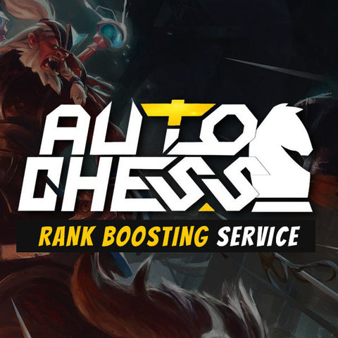 Auto Chess Rank Boosting