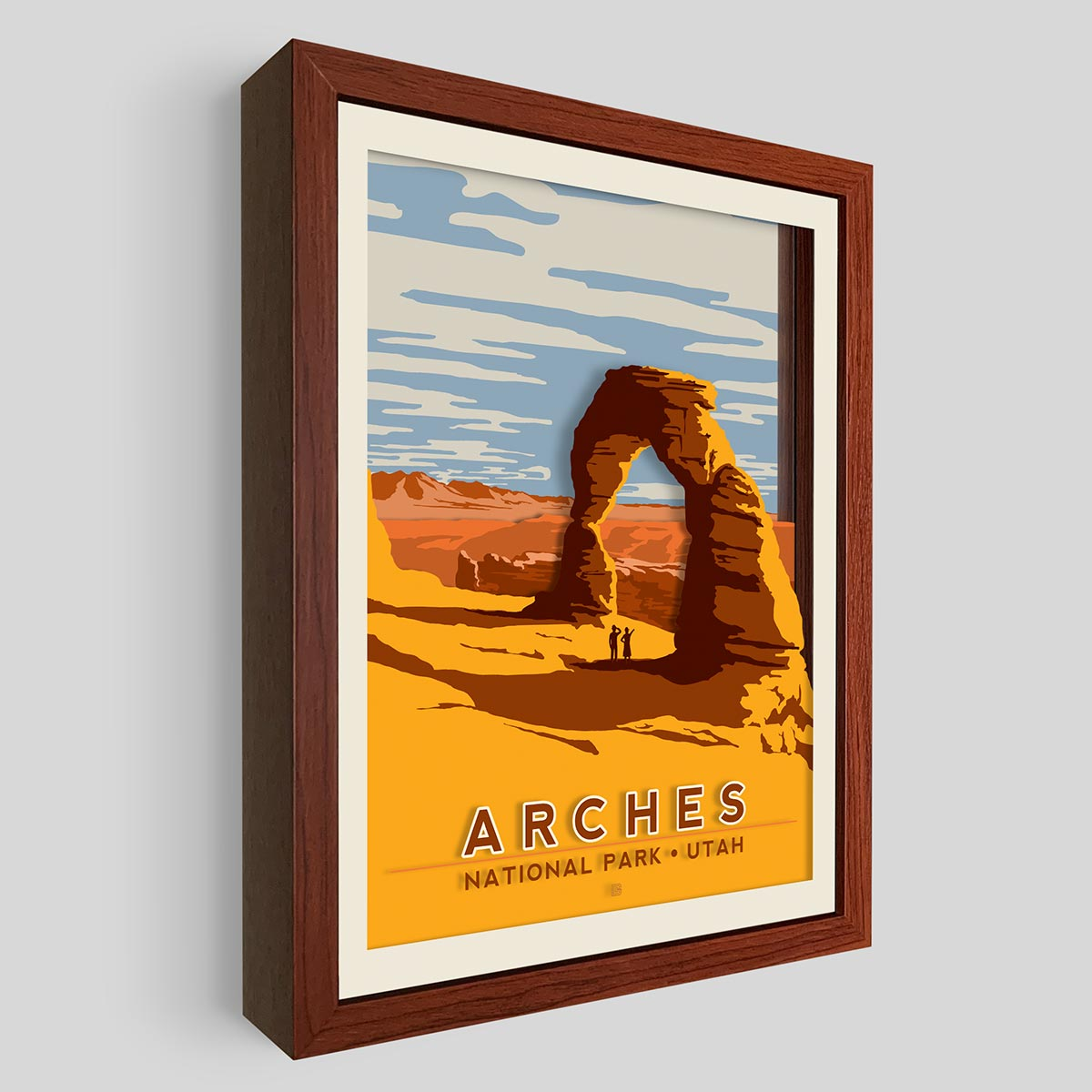 Arches National Park Shadowbox Art