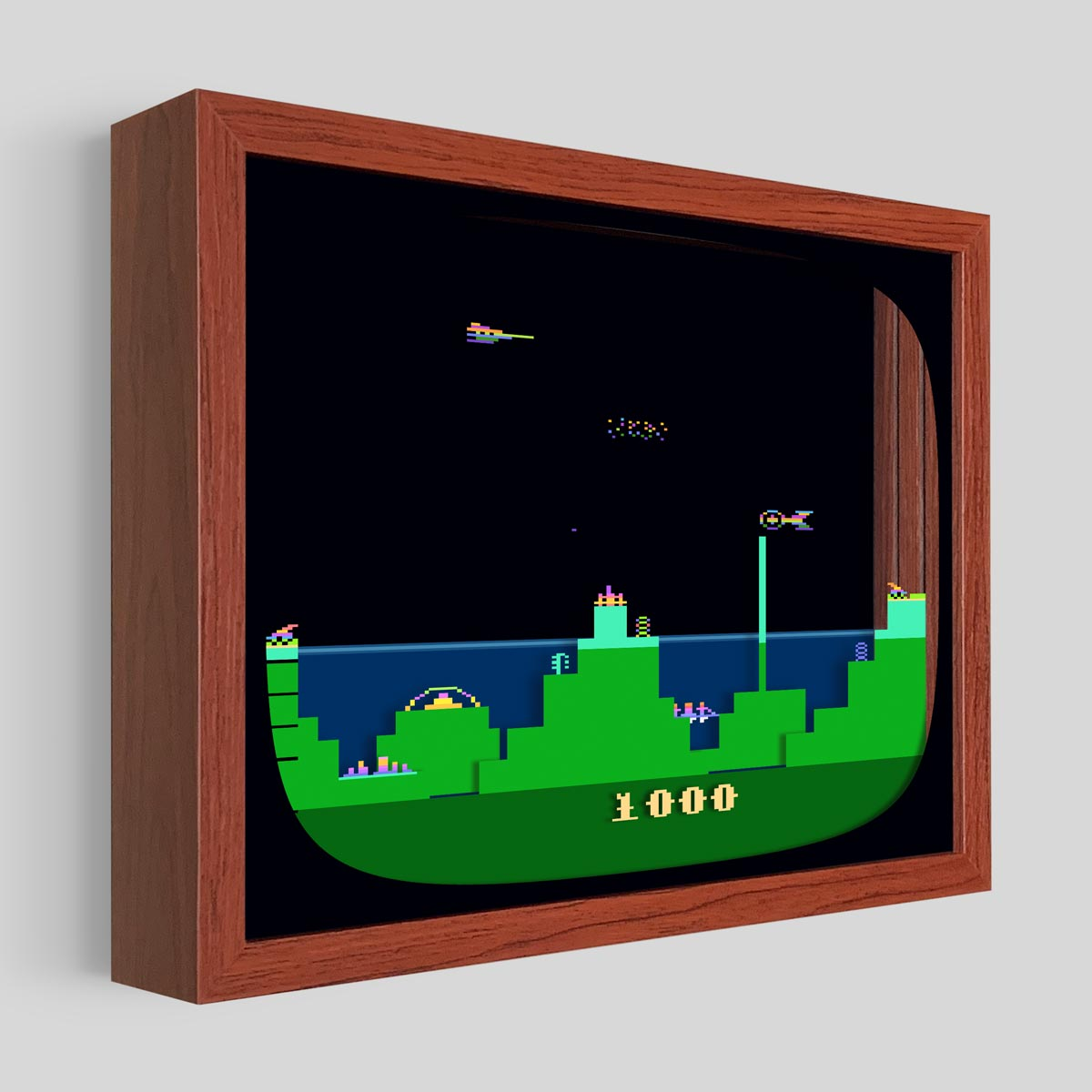 Atlantis Shadowbox Art