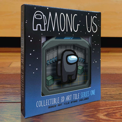 Among Us: Crewmate Art Tile - Black