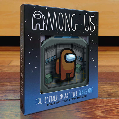 Among Us: Crewmate Art Tile - Brown