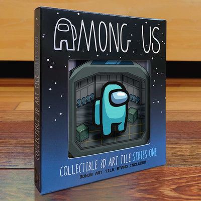 Among Us: Crewmate Art Tile - Cyan
