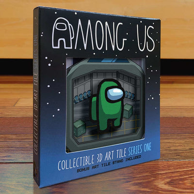 Among Us: Crewmate Art Tile - Green