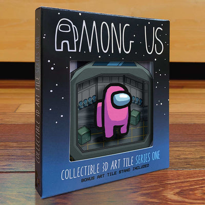Among Us: Crewmate Art Tile - Pink