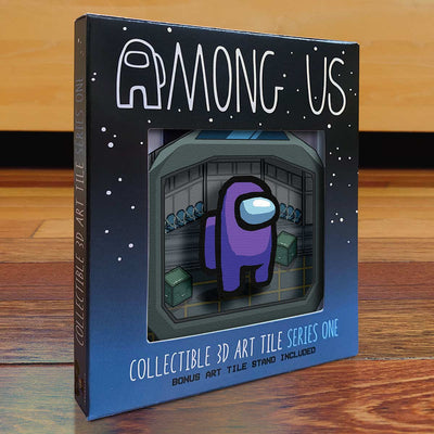 Among Us: Crewmate Art Tile - Purple