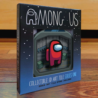 Among Us: Crewmate Art Tile - Red