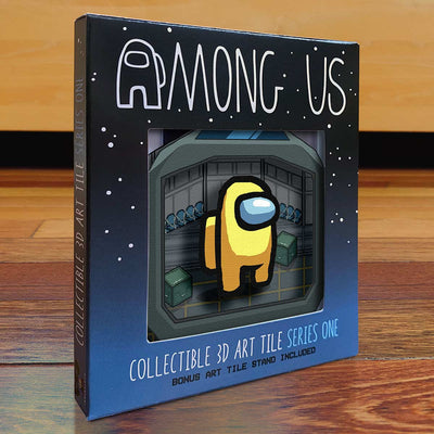 Among Us: Crewmate Art Tile - Yellow